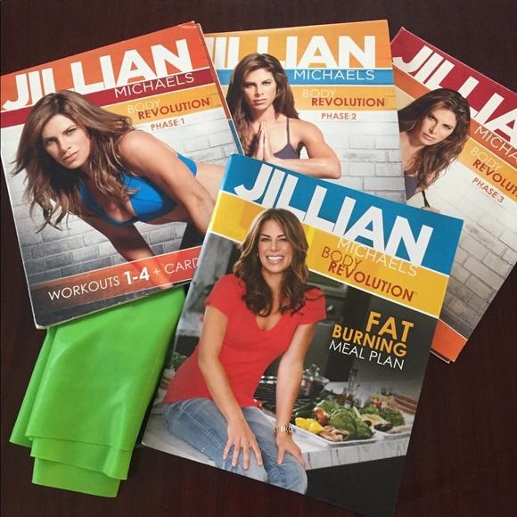 Jillian michaels body revolution 90 day journal